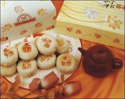 万川号水晶饼
