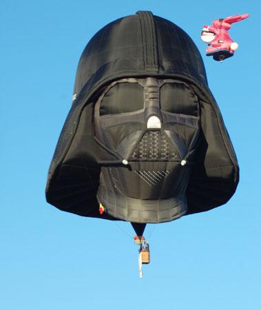 黑武士热气球受到很多星球大战爱好者的追捧