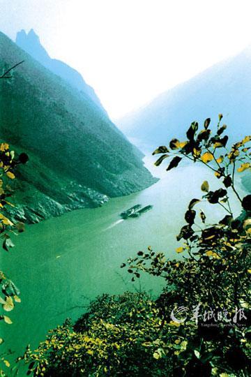 瞿塘峡 (许嵘摄)