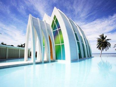 关岛的教堂