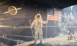 美国国家航空航天博物馆漫游太空