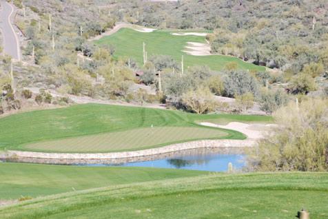 赵建国:美国沙漠高尔夫球场之昆特洛球场