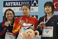 2006年齐晖加冕三冠王中国5金