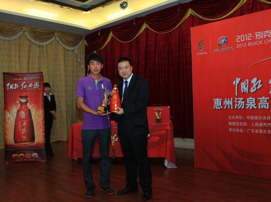 惠州汤泉选拔赛冠军得主-姚学峰