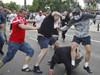 波兰俄罗斯球迷群殴