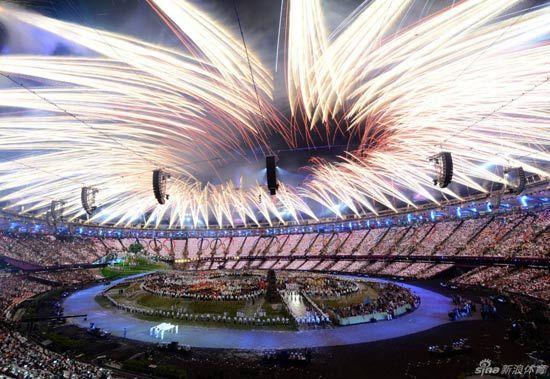 伦敦奥运会开幕式