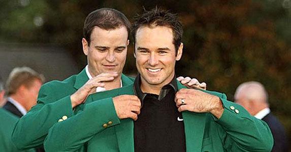 2008年 扎克-约翰逊为伊梅尔曼披上绿茄克