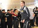 勇士抵达北京