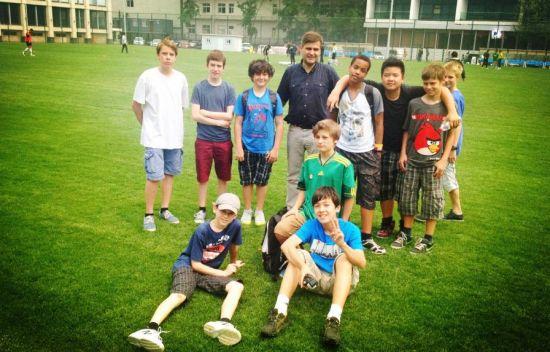 德国使馆学校体育足球项目周活动