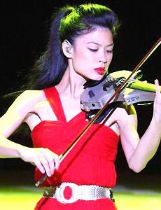 华裔美女小提琴家将战冬奥