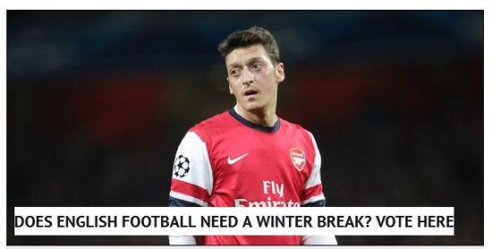 镜报发起投票:英国足球需要冬歇期吗?