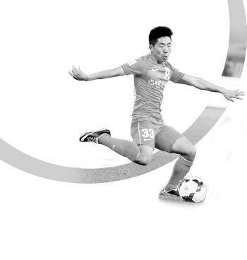 金敬道是鲁能最稳定的球员之一。本报记者 周青先 摄