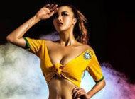 女星豪放写真助威巴西