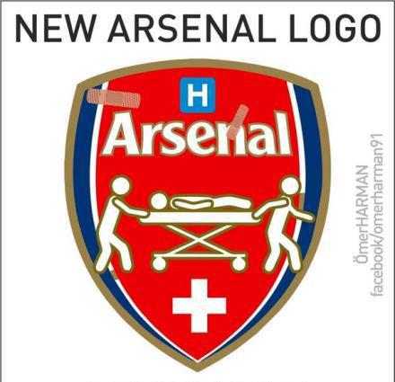 所以这是阿森纳新队徽