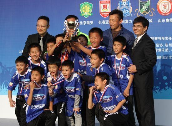 筑梦中国足球 从我做起