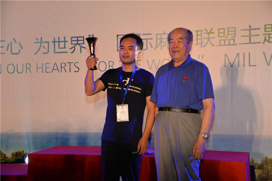 中国男牌手夺冠为中国国粹麻将正名