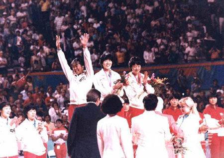 1984年洛杉矶奥运会夺冠(3)