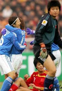 四强赛-90分钟无有效射门女足0-3完败日本列第三