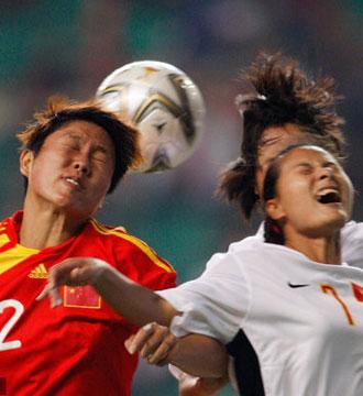 亚运女足-越南门将失误送礼中国1-0险胜提前出线