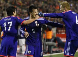 热身-日本客场翻盘3-2比利时韩国遭逆转负俄罗斯