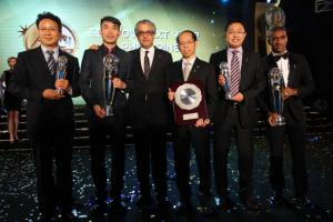 亚足联颁奖典礼中国包揽5项大奖创中国足球历史