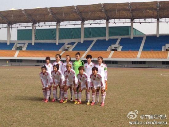 中国女足首发