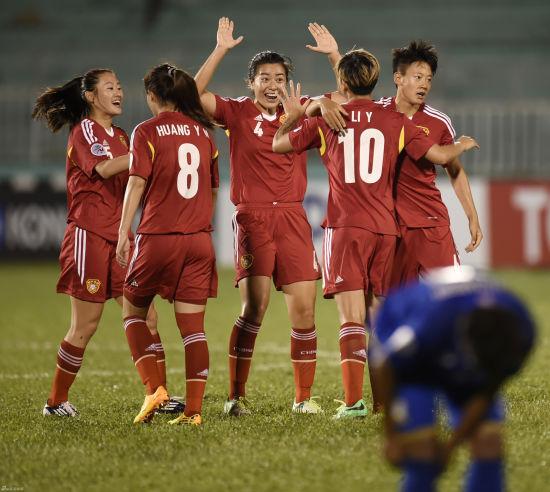 中国女足欲望打进决赛