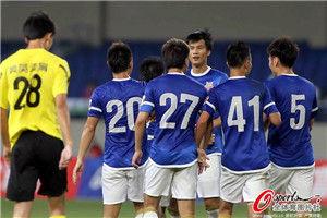 足协杯-王�S传射申鑫2-1逆转业余队苏州将战申花