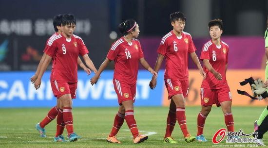 中国女足展开世界杯备战
