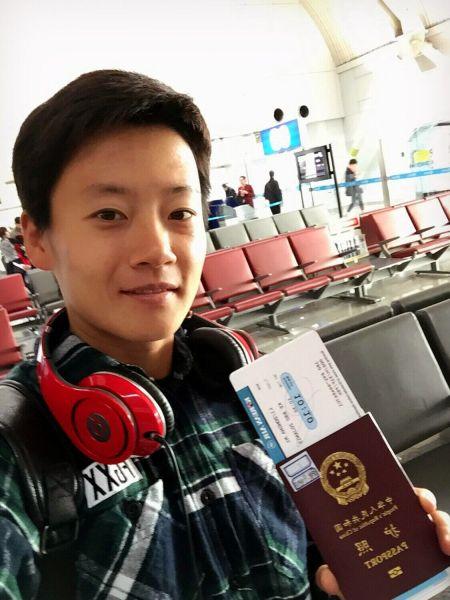 李冬娜远赴韩国