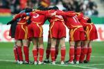 图文-[女足热身赛]女足0-2德国玫瑰仅靠团结还不够