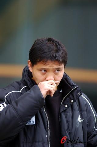 图文-中乙决赛阶段第2轮天津2-0山峡张效瑞很低调
