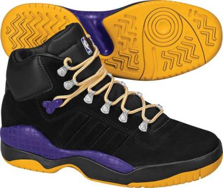 阿迪达斯 男子 篮球鞋 G20630湖人