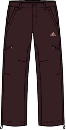 阿迪达斯 梭织长裤 P85404红棕