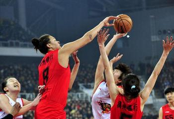 WCBA总决赛Ⅱ-坎贝奇45+17浙江胜山西总分1比1