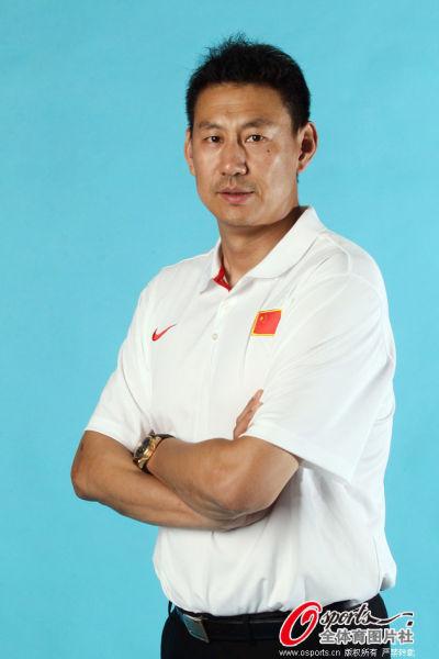 前中国男篮队长李楠
