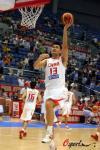 图文-[斯杯]中国男篮VS俄罗斯姚明赛前苦练上篮