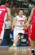 图文-[钻石杯]中国男篮VS伊朗 刘炜快速突破