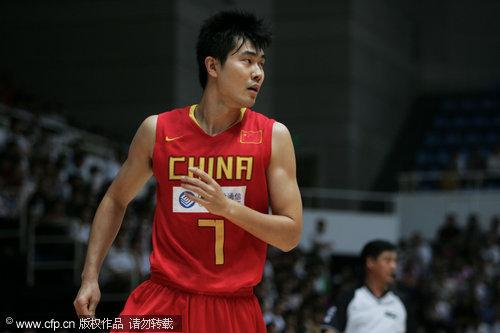 图文-[热身赛]中国87-67澳洲明星王仕鹏依旧精准