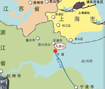 浙江九龙山将军高尔夫俱乐部位置图