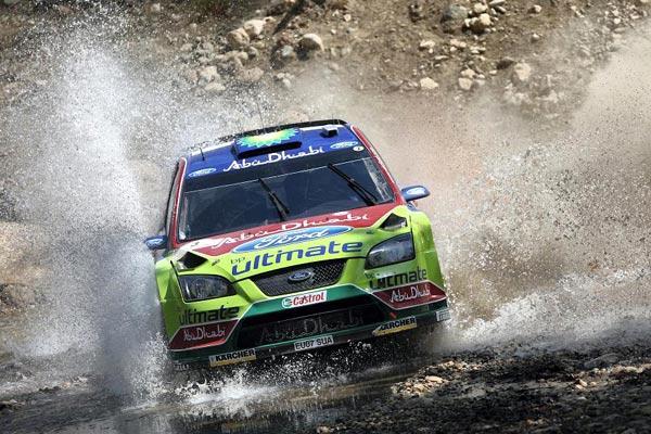 福特WRC冠军车队1号车手希尔沃宁将再度访华(图)