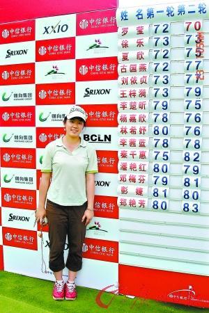 李茜蓝:高尔夫高手13岁就夺冠(图)