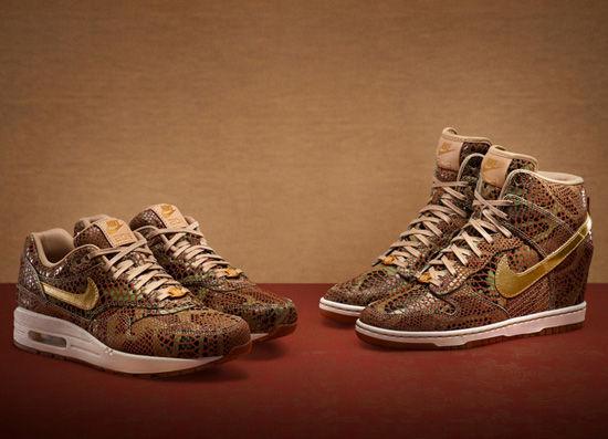 2013蛇年女生特别鞋款