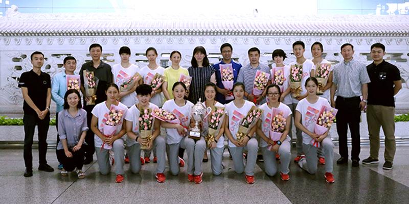 国青女排荣获U20世界青年女排锦标赛冠军