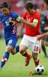 图文-[欧洲杯]奥地利VS克罗地亚双方队长激情碰撞