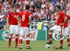 图文-[欧洲杯]奥地利VS克罗地亚林茨主罚任意球