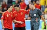 图文-[欧洲杯]瑞典VS西班牙哈维敢和裁判叫板