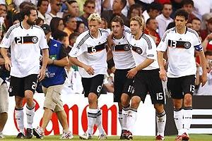 德国3比2葡萄牙 挺进四强