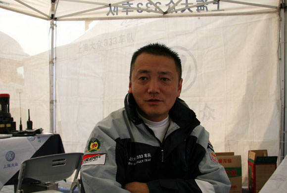 上海大众333车队经理朱玮谈双冠王:谢天谢地谢人们