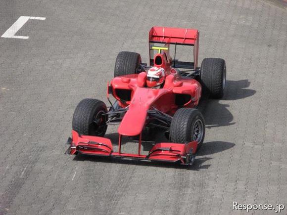 丰田2010款赛车TF110曝光一辆从未参战的F1赛车(图)